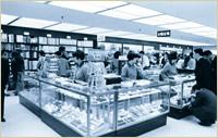 開店当時の梅田本店